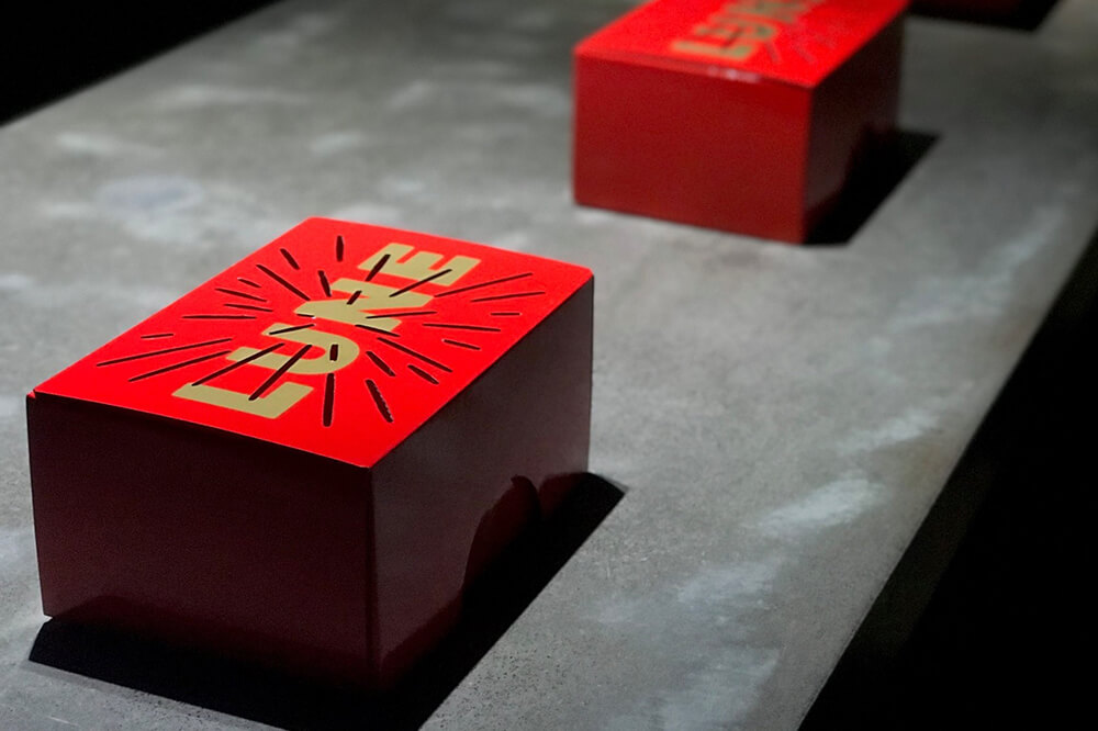 PPI has since worked with Lune to put a new spin on the original packaging design they created, to produce a limited edition red, high-gloss, laminated version of their packaging. The new design was commissioned to promote their collaboration with David Jones for Chinese New Year in February 2018.